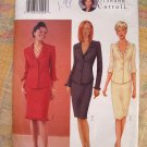 Butterick Pattern # 6706 UNCUT Misses Top & Skirt Size 12 14 16