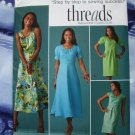 Simplicity Pattern # 2926 UNCUT Misses Straight /Flared Dress Size 18 20 22 24 26