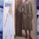 Vogue Pattern # 8474 UNCUT Misses Dress Jacket Size 16 18 20 22 24