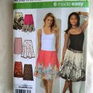 Simplicity Pattern # 4236 UNCUT Misses Skirt Variations Size 6 8 10 12 14