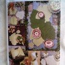 Vogue Craft Pattern #7491 UNCUT Napkins Apron Leaf Theme