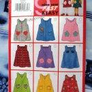 Butterick Pattern # 5095 UNCUT Girls Jumper Size 4 5 6