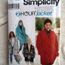 Simplicity Pattern # 9744 UNCUT Misses Set of Jackets / Coats Size XS S Medium