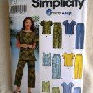 Simplicity Pattern # 7236 UNCUT Misses Tops Pants Shorts Size 18 20 22 24