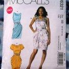 McCalls Pattern # 6321 UNCUT Misses Dress Variations Size 8 10 12 14