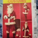McCall's Pattern # 5550 UNCUT Santa Suit Men Woman + Bag Long Short Coat Sizes XL XXL XXXL