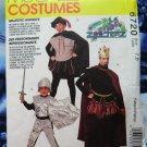 McCalls Pattern # 6720 UNCUT Boys Costume King Knight Robin Hood