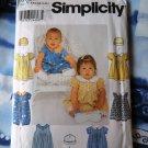 Simplicity Pattern # 9602 UNCUT Baby Infant Romper Hat Size XS Small Medium Large