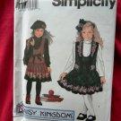 Simplicity Pattern # 9167 UNCUT Girls Dress Size 3 4 5 6 Daisy Kingdom