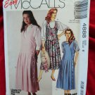Easy McCalls Pattern # 4888 UNCUT Misses Jumper Size 6