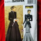 Butterick Pattern # 4954 UNCUT Misses Long Skirt Coat History Costume Size 16 18 20 22