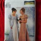 Butterick Pattern # 6630 UNCUT Misses Costume Empire Gown Dress & Petite Coat Size 18 20 22