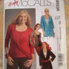 McCalls Pattern # 5536 UNCUT Misses Tunic Top Size 8 10 12 14 16