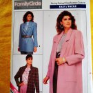 Butterick Pattern # 5759 UNCUT Misses Jacket Coat Size 12 14 16