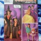 Simplicity Pattern # 8647 UNCUT  Girls Costume Size 8 10 12 Witch Princess