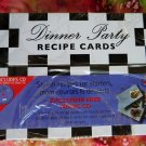 New Sealed Recipe Card File Dinner Party & Music CD