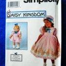 Simplicity Pattern # 8080 UNCUT Girls Doll Dress Size 5 6 7 8 Daisy Kingdom