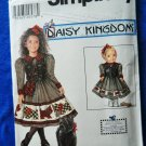 "Simplicity Pattern # 7744 UNCUT Girls and 17"" Doll Dress Size 3 4 5 6"