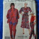 McCalls Pattern # 2365 UNCUT Misses Shirt, Top, Skirt Pants Size 14