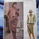 Vogue Pattern # 9050 UNCUT Misses Jacket Skirt Sizes 8 10 12