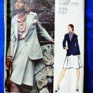 Vogue Pattern # 2825 UNCUT Misses Jacket Skirt Blouse Size 12 Anne Klein