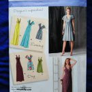 Simplicity Pattern # 2219 UNCUT Misses KNIT Dress Gown Size 6 8 10 12 14
