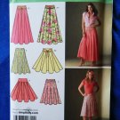 Simplicity Pattern # 4188 UNCUT Misses Flared Full Skirt Size 16 18 20 22 24