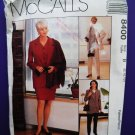 McCalls Pattern # 8400 UNCUT Misses Wardrobe Jacket Skirt Pants Size 8 10 12