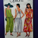 Vogue Pattern # 8022 UNCUT Misses Dress Jumpsuit Size 8 10 12