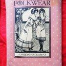 Folkwear Pattern # 203 UNCUT Misses Edwardian Underwear Camisole Size 6 8 10 12 14 16