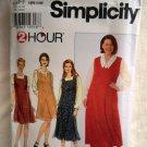 Simplicity Pattern # 7293 UNCUT Misses Jumper Size 18 20 22 24