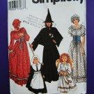 Simplicity Pattern # 9982 UNCUT Misses Costume Witch Angel Prairie Dress Size S Medium Large