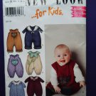 New Look Pattern # 6209 UNCUT Baby Toddler Jumpsuit Size NB Small Medium Large