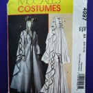 McCalls Pattern # 4997 UNCUT Misses Renaissance Costume Dress Size 6 8 10 12