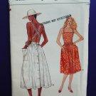 Vogue Pattern # 8935 UNCUT Misses A-Line Dress Straps Size 6 8 10