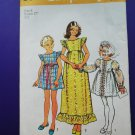 Vintage Simplicity Pattern # 5540 UNCUT Girls Dress Size 8 Chest 27""