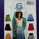 Butterick Pattern # 4686 UNCUT Misses Skirt Variations Size 14 16 18 20