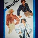 Simplicity Pattern # 6599 UNCUT Misses Blouse Size 12 14 16