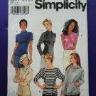 Simplicity Pattern # 8809 UNCUT Misses KNIT Tops Size 12 14 16 18