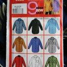 Butterick Pattern # 3198 UNCUT Misses Blouse Collar Variations Size 20 22 24