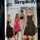 Simplicity Pattern # 8841 UNCUT Misses Special Occasion Dress Size 6 8 10 12 14 16