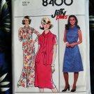 Simplicity Pattern # 8400 UNCUT Misses KNIT Dress Size 14 Vintage 1978
