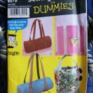 Simplicity Pattern # 4979 UNCUT Assorted Totes Sewing for Dummies