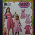 Simplicity Pattern # 3902 UNCUT Girls Dress Variations Size 7 8 9 10 11 12 14