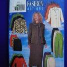 Butterick Pattern # 5266 UNCUT Misses Wardrobe Jacket Skirt Pants Top Size 8 10 12
