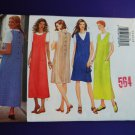 Butterick Pattern # 5926 UNCUT Misses Jumper Dress  Top Size 14 16 18
