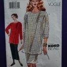 Vogue Pattern # 7336 UNCUT Top Skirt Size 8 10 12