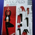 McCalls Pattern # 4261 UNCUT Spa Essentials Size Large and  XL