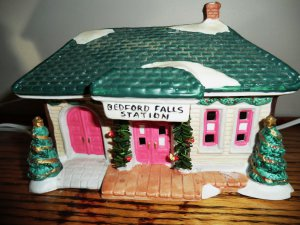 It's A Wonderful Life Bedford Falls TRAIN STATION from Target