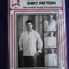 Vintage American Shirt Pattern PM 64 UNCUT All Sizes Small Medium Large XL